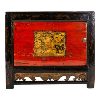 Chinese Painted Cabinet For Sale