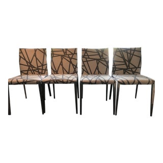 Dart Chairs by Molteni - Set of 4 For Sale