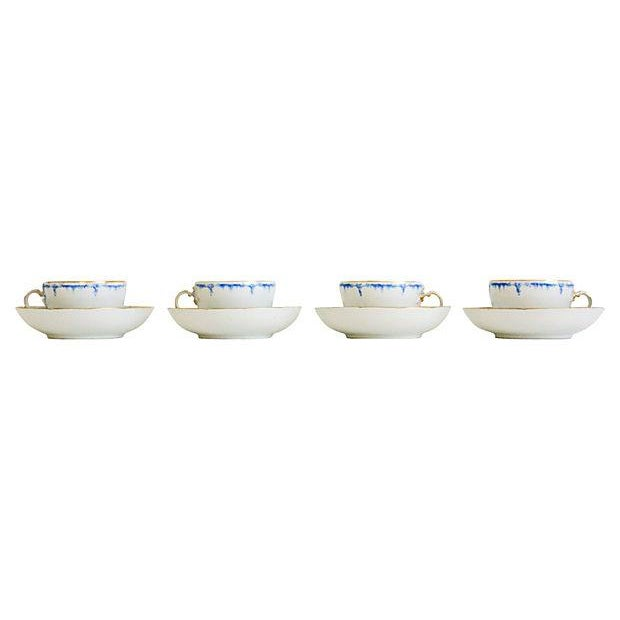Royal Berlin Cups & Saucers- Set of 4 - Image 3 of 7