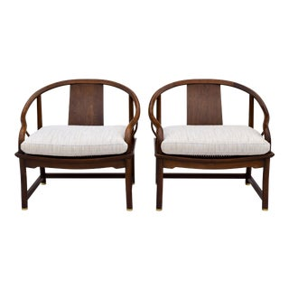 Michael Taylor For Baker Lounge Chairs