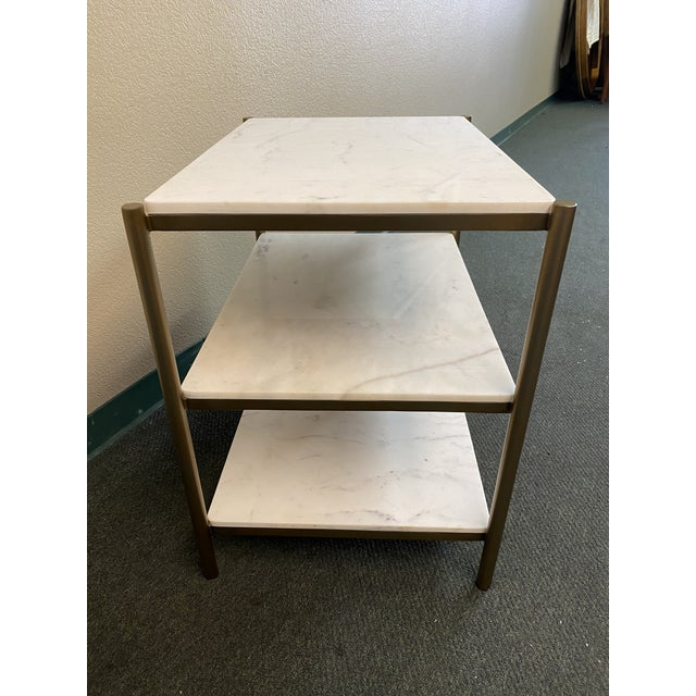 New Alder & Tweed Hollywood End Table For Sale - Image 4 of 11