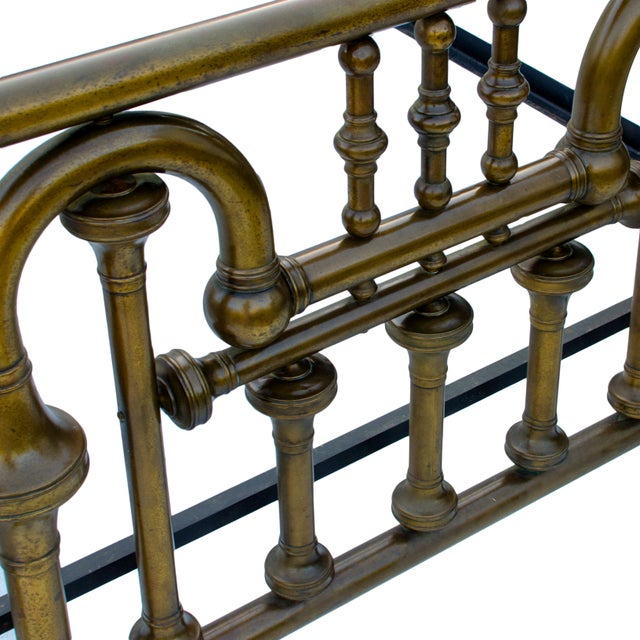 Brass 19th Century Brass Tuba Bed Frame For Sale - Image 7 of 11