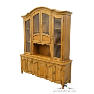 """Thomasville Furniture Chateau Collection Country French 66"""" China Cabinet 995-1200 Preview"""