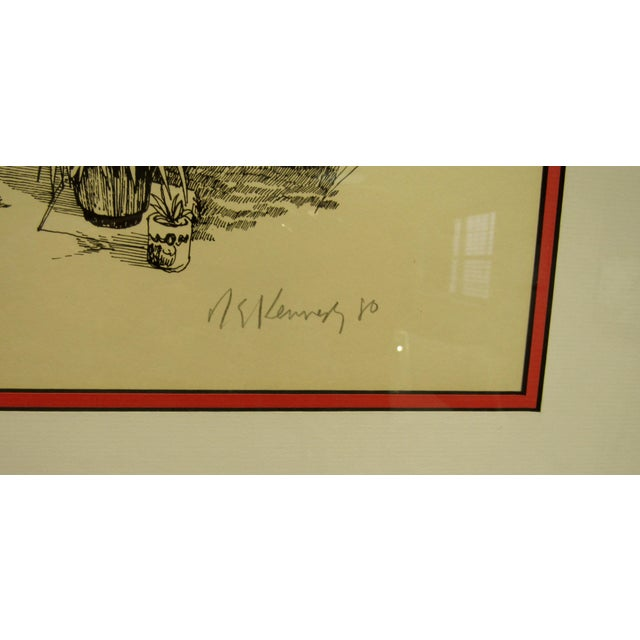 Hemingway's Studio Print For Sale In West Palm - Image 6 of 6