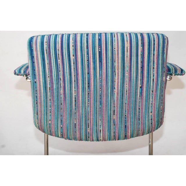 Set of Four Italian Mid-Century Chairs by Saporiti Italia For Sale In Palm Springs - Image 6 of 7