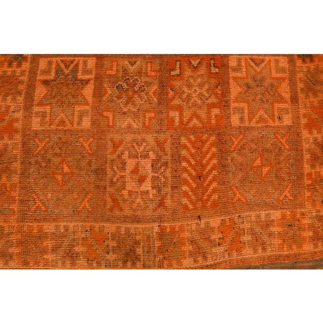 Vintage Moroccan Berber Rug - 5′7″ × 12′10″ - Image 2 of 4