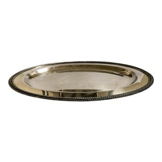 Silverplate Tray Vintage For Sale