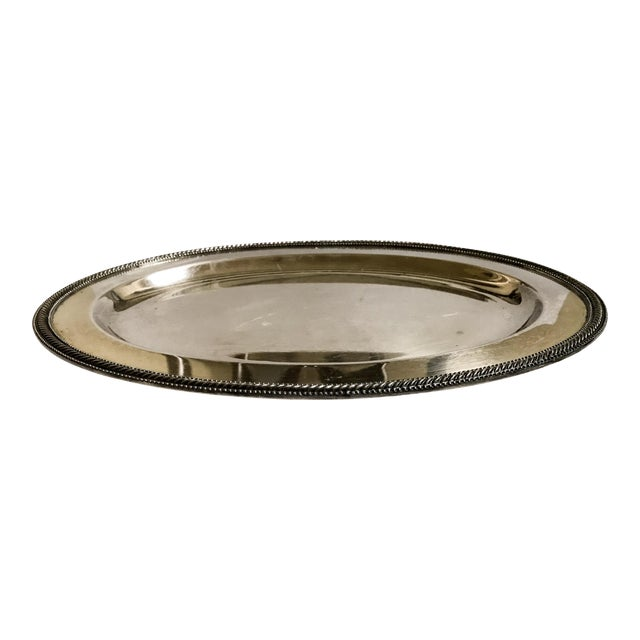 Silverplate Tray - Vintage For Sale