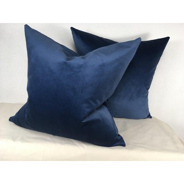 Ralph Lauren Velvet Pillows - A Pair For Sale In Philadelphia - Image 6 of 6