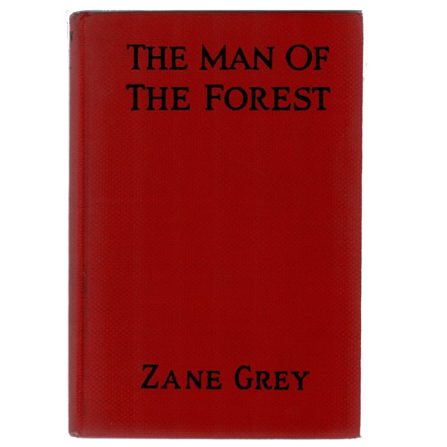 """Booth & Williams 1920 """"The Man of the Forest"""" Collectible Book For Sale - Image 4 of 4"""