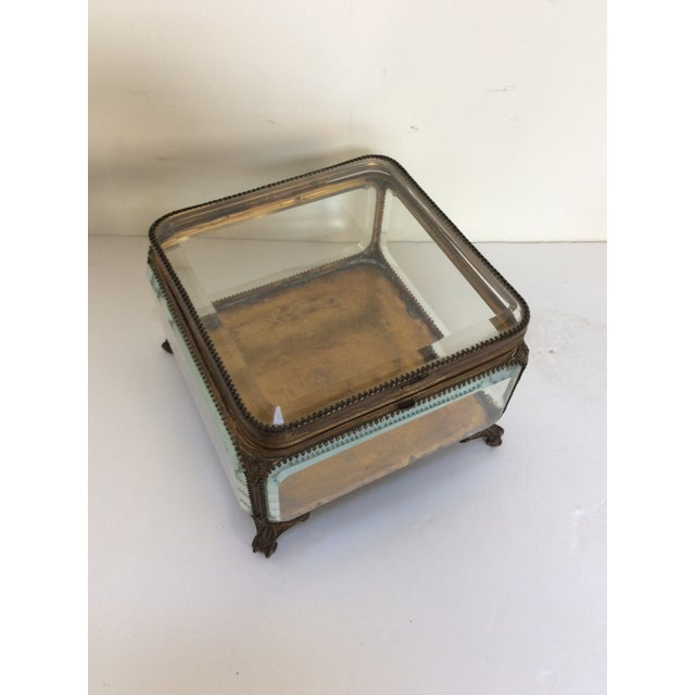 Metal Mounted Glass Box For Sale In San Antonio - Image 6 of 6