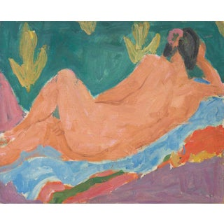 Victor DI Gesu Reclining Nude 1955 For Sale
