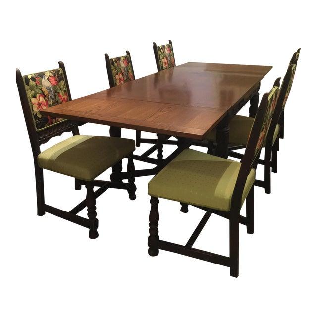 Antique Jacobean Dining Room Set