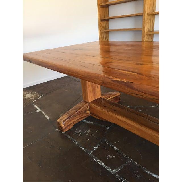 Jarrah Wood Rustic Dining / Communal Table - Image 4 of 4
