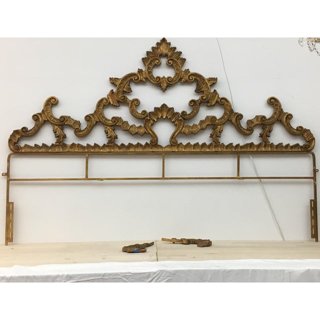 Brazilian Designer Vintage Head Board - Image 2 of 6