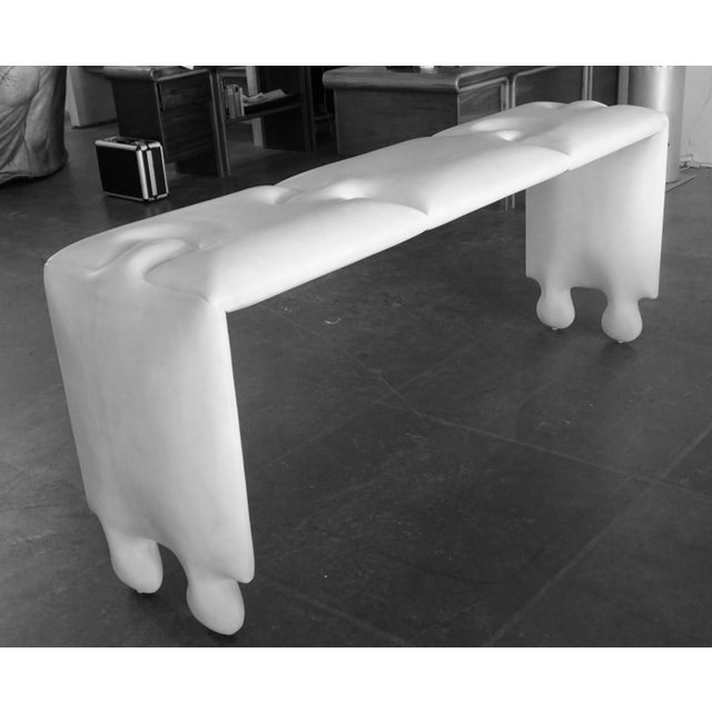 Postmodern Scala Puzzle Console Table For Sale - Image 4 of 8