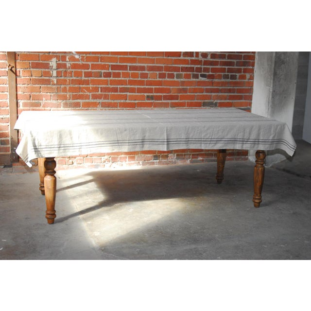 Zinc Topped Farm Table - Image 10 of 11