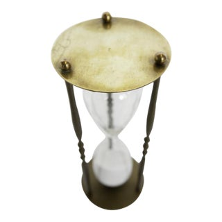 1940's Vintage English Hourglass For Sale