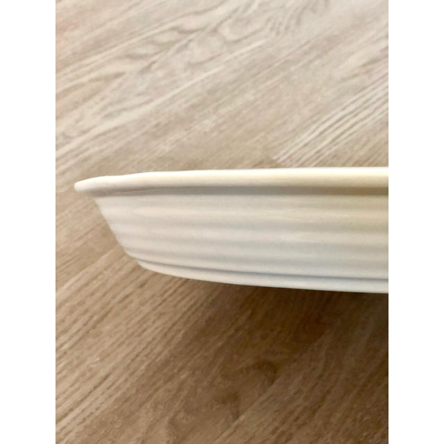 Pottery Barn Large Pottery Barn Platter For Sale - Image 4 of 8