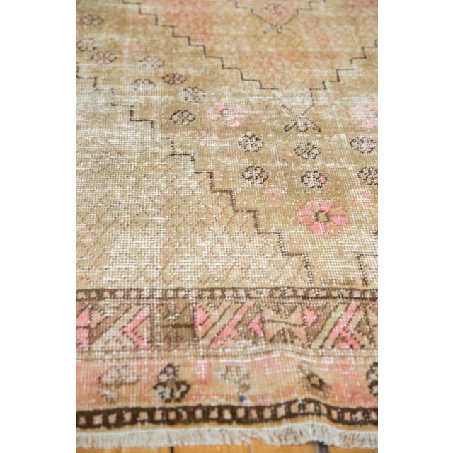 "Vintage Distressed Khotan Rug - 4'7"" x 8'9"" - Image 9 of 10"