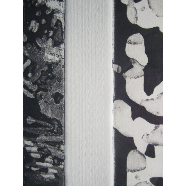 Abstract Lithograph in Black Frame - Image 4 of 5