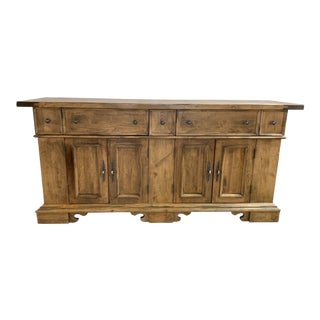 Contemporray Solid Wood Hutch For Sale