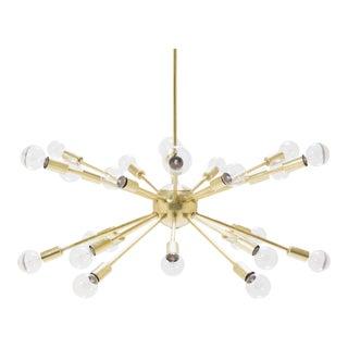 Brass Sputnik Pendant Chandelier