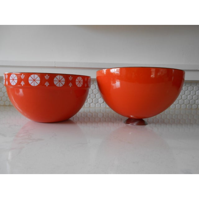 Orange Cathrineholm Soup Tureen - Image 5 of 9
