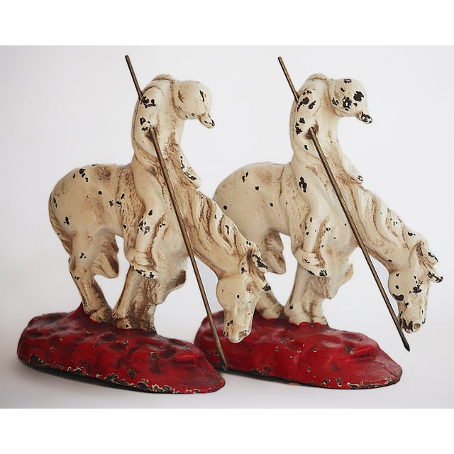 Bookends Vintage Iron - Image 4 of 4