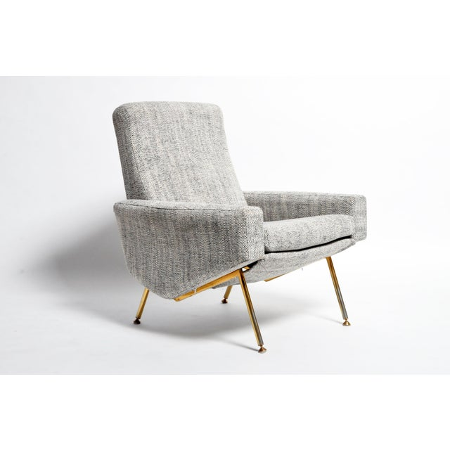 Pierre Guariche French Airborne Edition Armchairs by Pierre Guariche - a Pair For Sale - Image 4 of 13