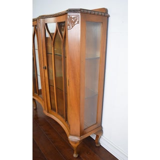 Queen Anne Glass Display Cabinet Preview
