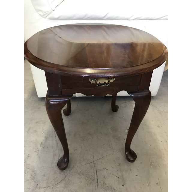 Pennsylvania House Queen Anne Side Table - Image 6 of 6