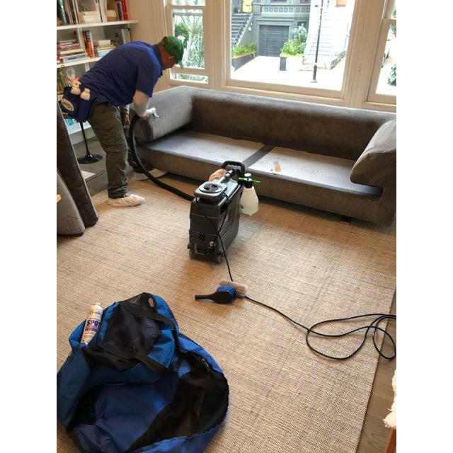 Gray Roche Bobois Elixir Model Upholstered 4-Seat Sofa For Sale - Image 8 of 9