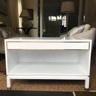 Harvey Probber White Lacquered Side Table Preview
