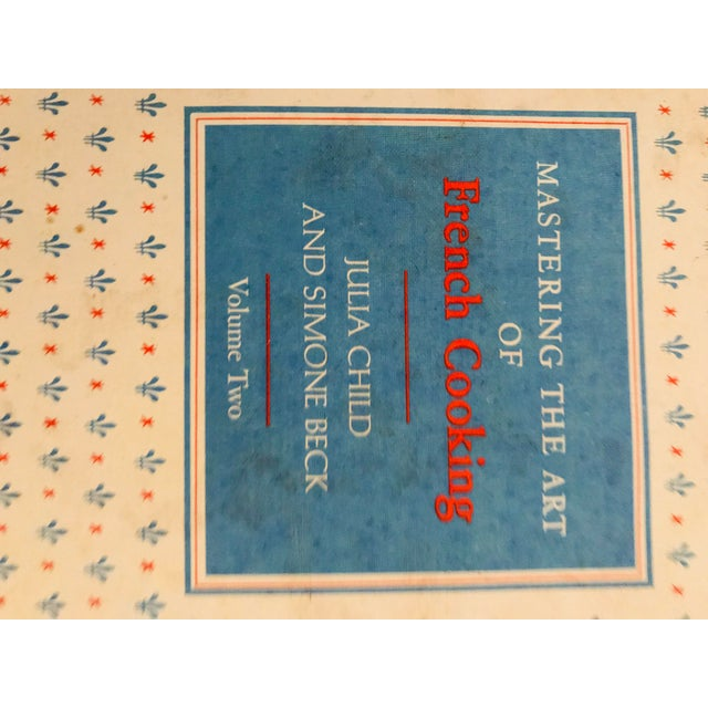 Paper 1961 Vintage Mastering the Art of French Cooking Vol 2, First Edition Book For Sale - Image 7 of 8