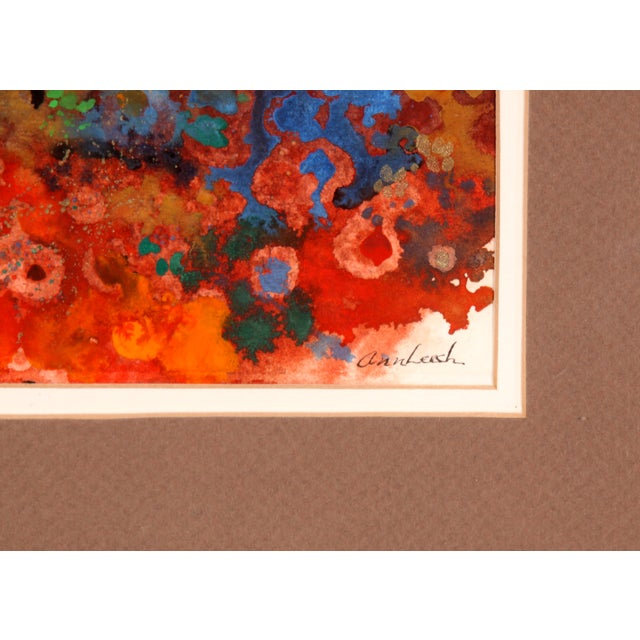 Color Explosion Collage Abstract Painting For Sale - Image 4 of 6