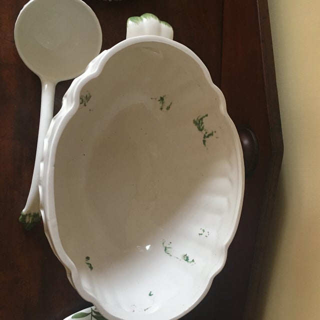 Traditional Chelsea House Large Soup Tureen For Sale - Image 3 of 10