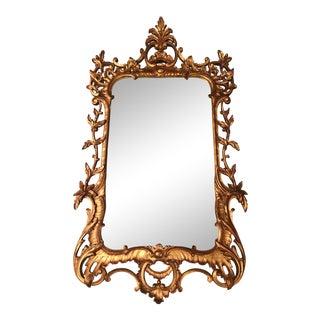 Antique Italian Gilded Mirror For Sale