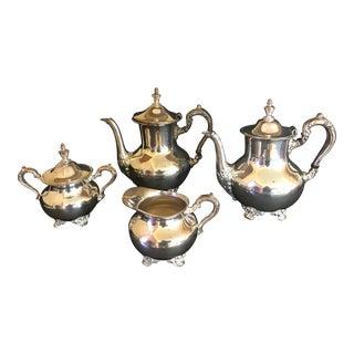 Vintage Poole Silver Tea Service - Set of 4