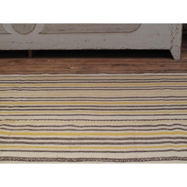 1950s Striped Jajim For Sale - Image 5 of 8