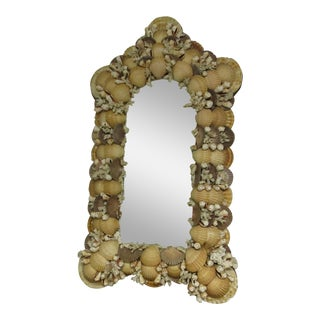 Vintage Seashell Mirror