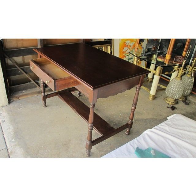 Antique Writing Desk - Image 5 of 8