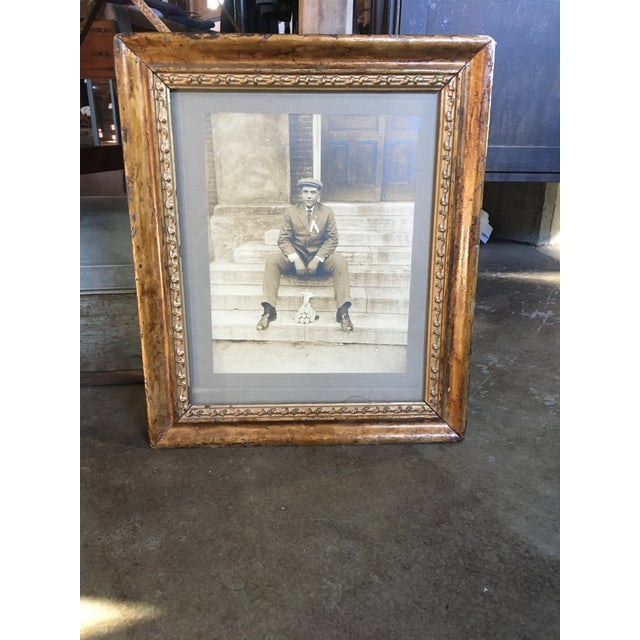Vintage Framed Photograph of Man, Circa 1920 - Image 2 of 3