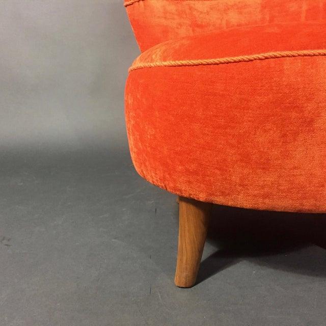 Easy Chair by Oskar Bernströms Möbelfabrik, Sweden 1950s For Sale - Image 9 of 10