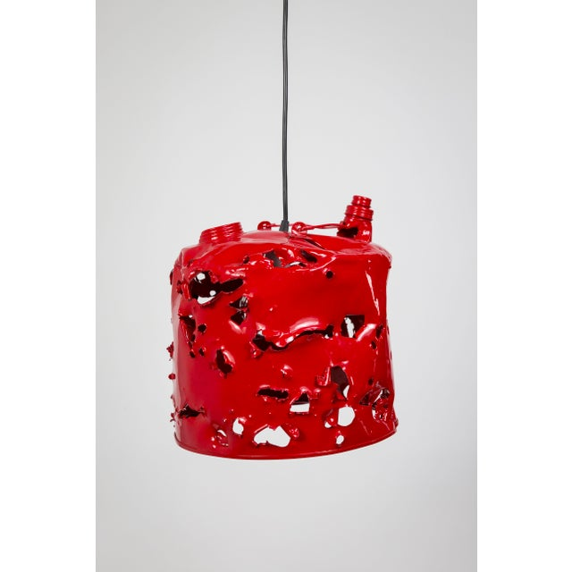Gas Can Pendant Light by Charles Linder For Sale - Image 10 of 10