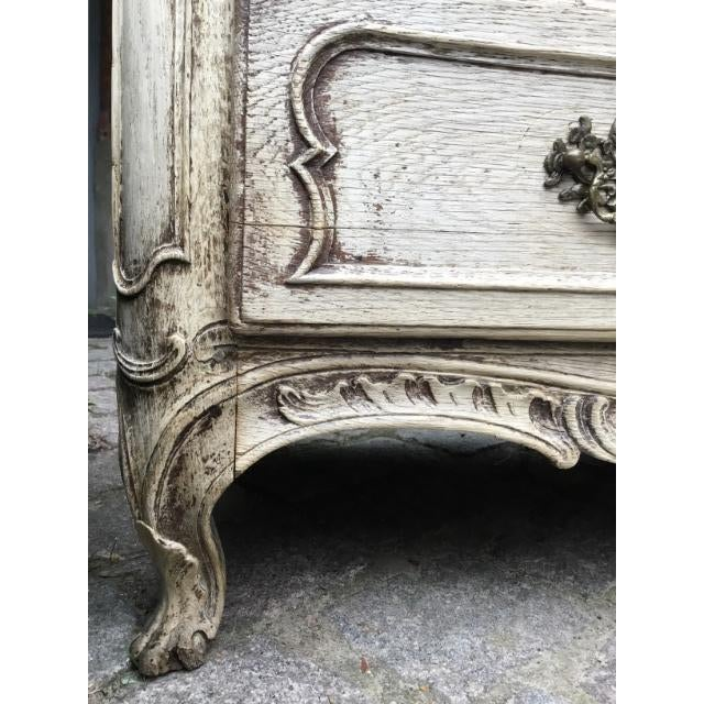 Tan 18th C. Louis XV Commode For Sale - Image 8 of 9