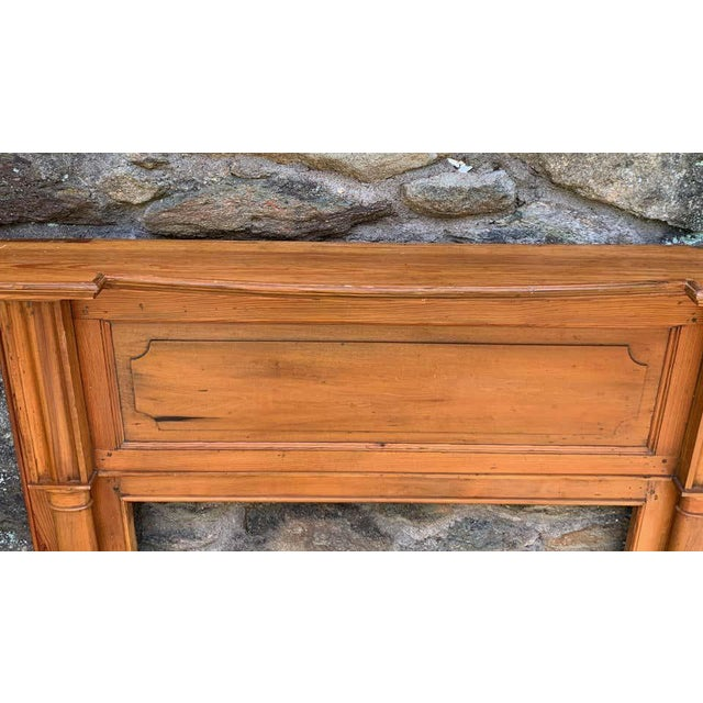 Early 19th Century Pine Fireplace Mantel For Sale In Richmond - Image 6 of 13