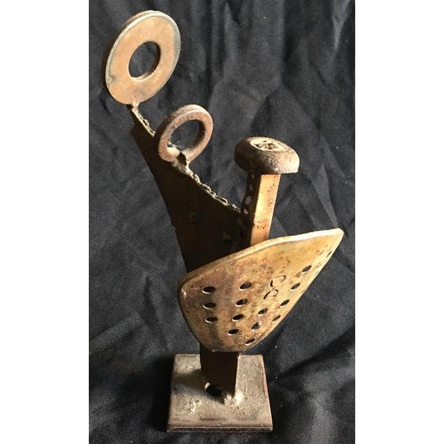 An early Greg Bressani sculpture Noted Ojai Artist