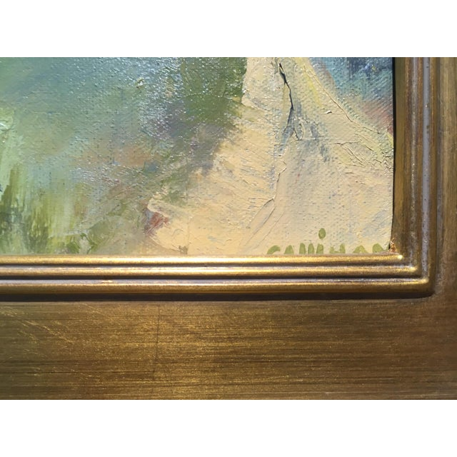 """""""Morning Mist"""" Oil on Canvas by Sue Calahan For Sale - Image 4 of 5"""