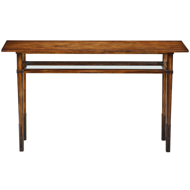 2010s Modern Sarreid Ltd Taper Console Table For Sale - Image 5 of 5